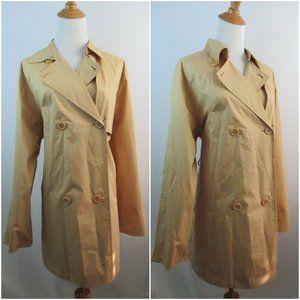 NWT MAX STUDIO Double breast trench coat jacket